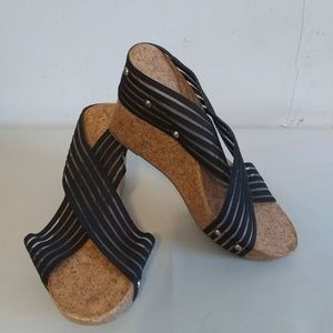 Cato wedge sandals sz 10